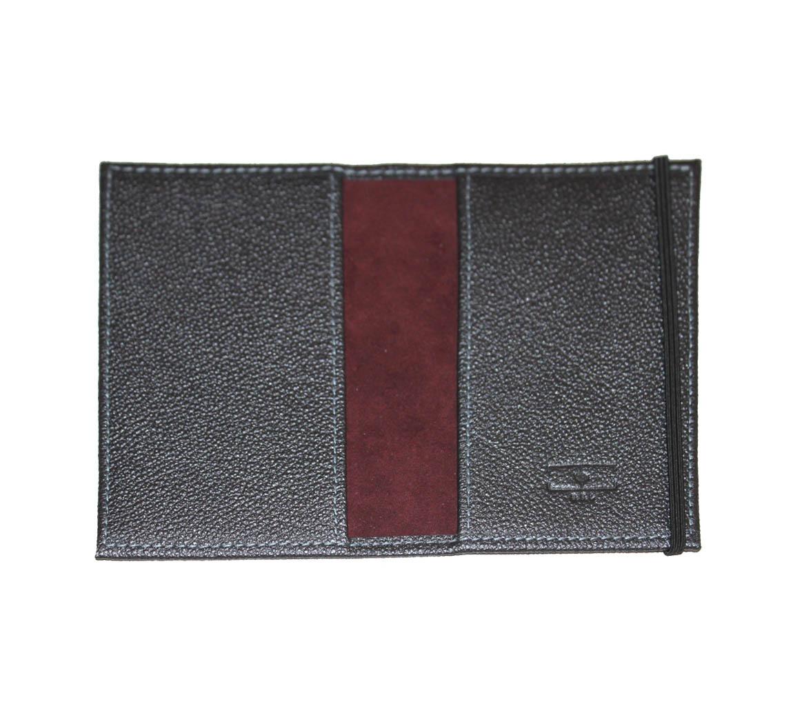 Protège passeport en cuir Porte Passeport BSL