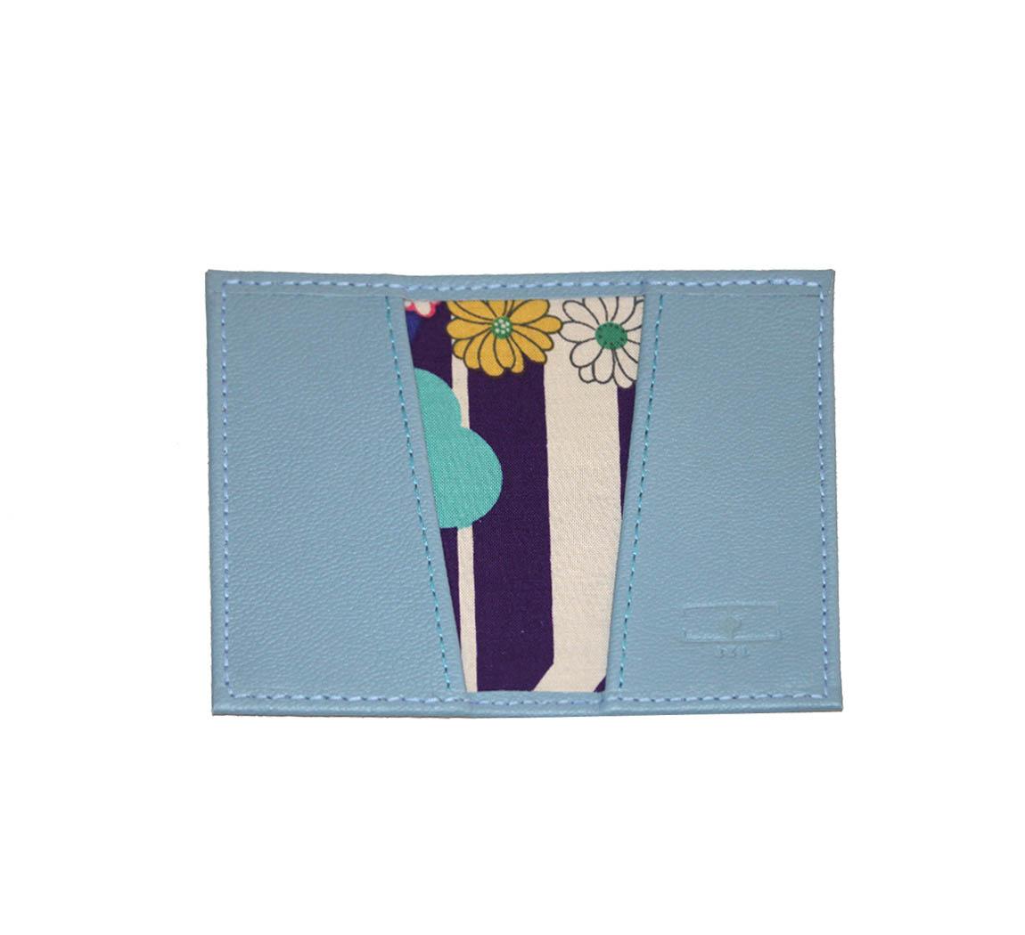 Porte cartes en cuir récupéré Porte-Carte BSL
