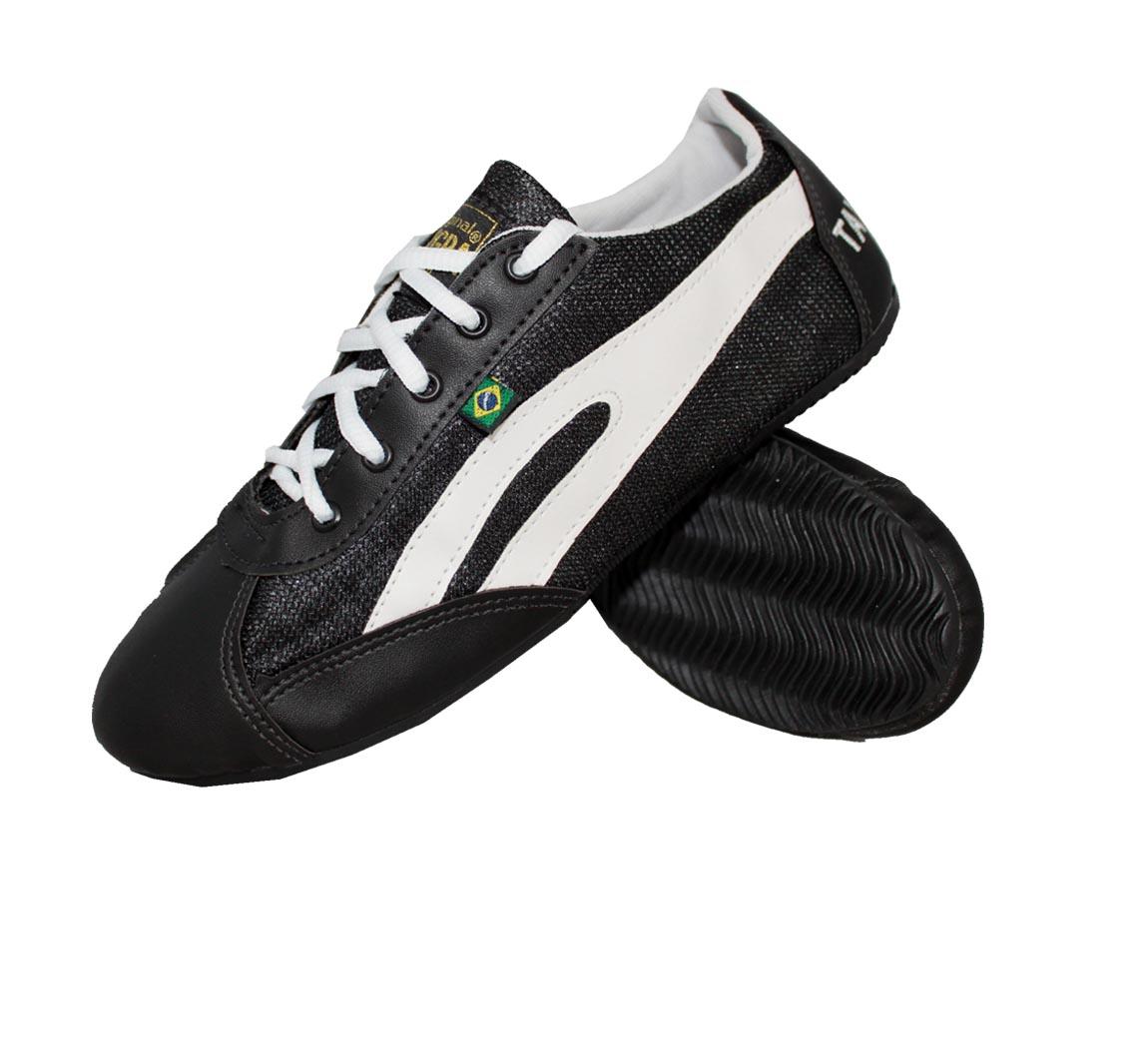 Chaussure Slim Noire/Blanc
