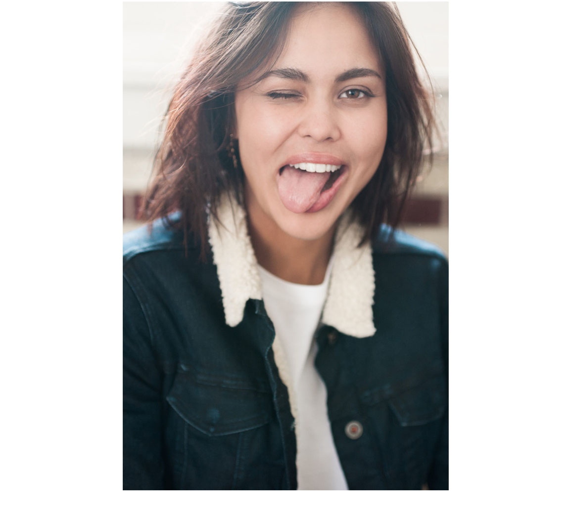 Blouson jean's femme Chelsea Sherpa Jacket