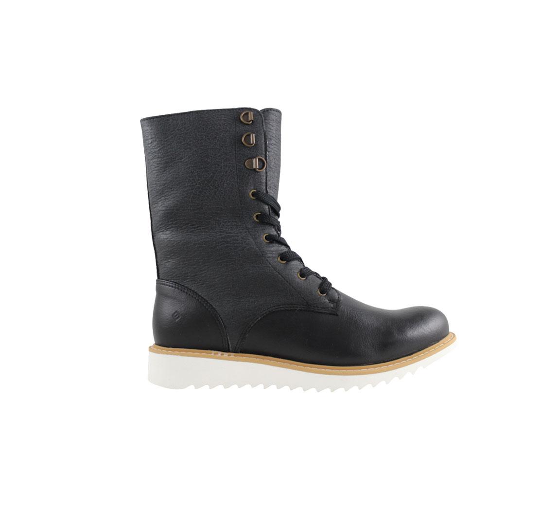 Bottine vegan pour femme Comfy lace up boots