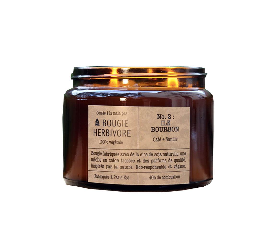 Produit cosmétique Bougie Double Mèche - Cosmétiques Bougie Herbivore 1c3513e54ef8