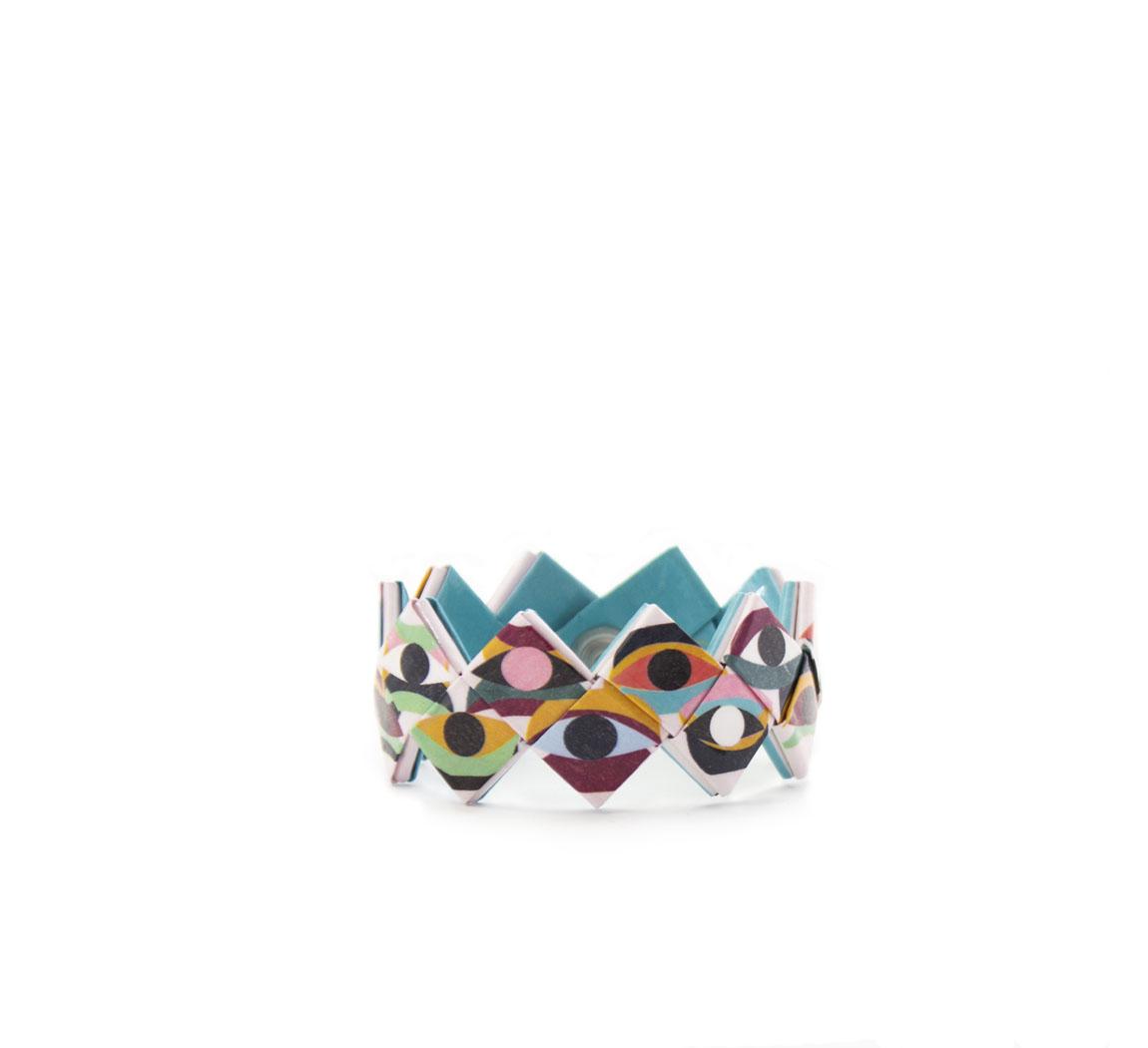 bracelet tresse en papier recyclé Bracelets Tressés