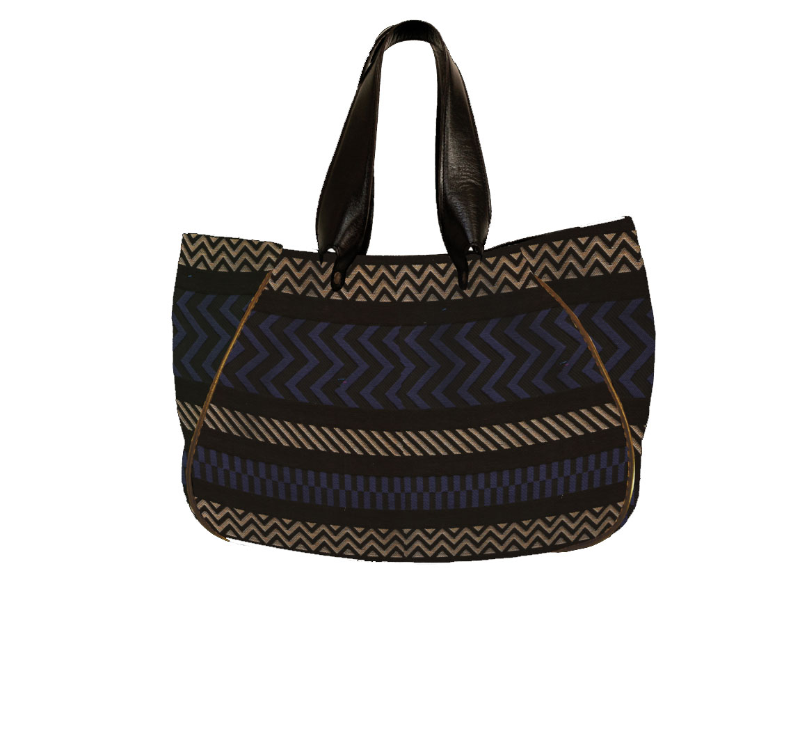 Sac à main vegan Hobo Jacquard