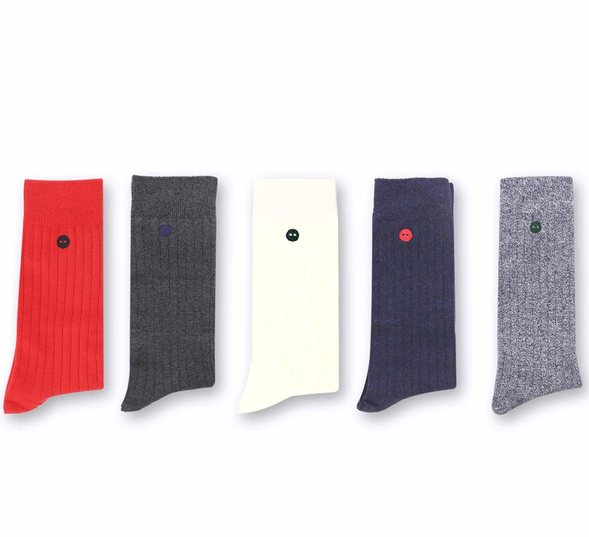 Faguo Pack 5 chaussettes Pack Pack 5 chaussettes