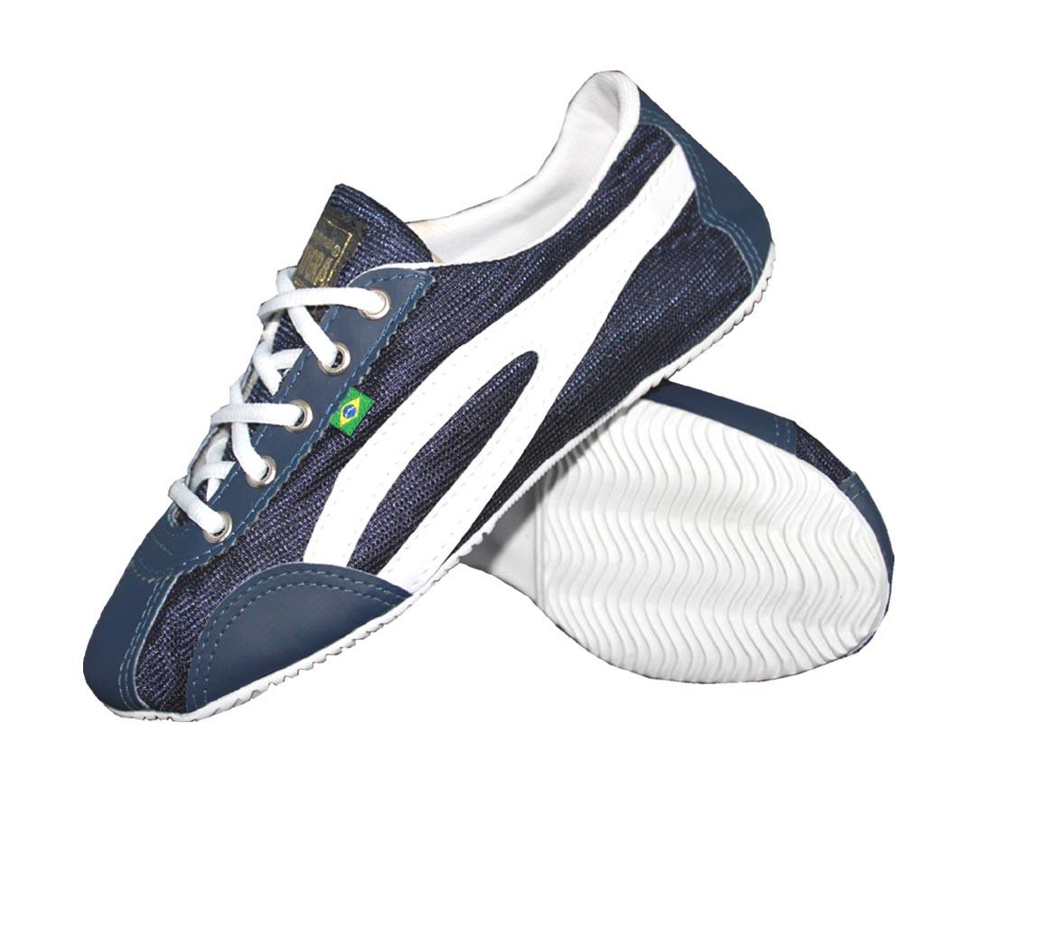 Chaussure Slim Marine/Blanc