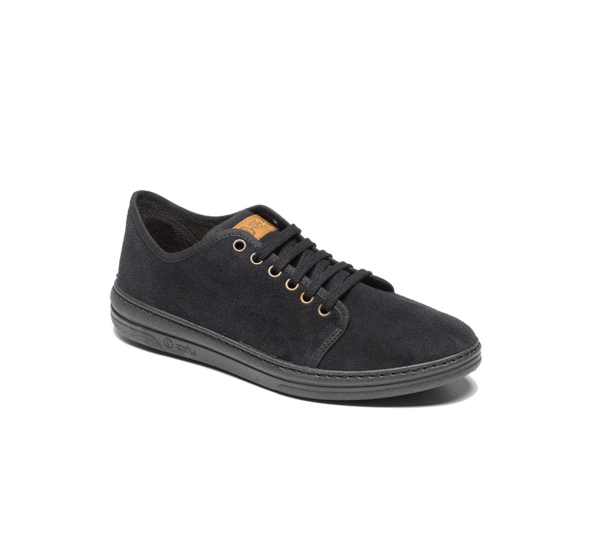 chaussure de ville homme en daim Deportivo Serraje Musli