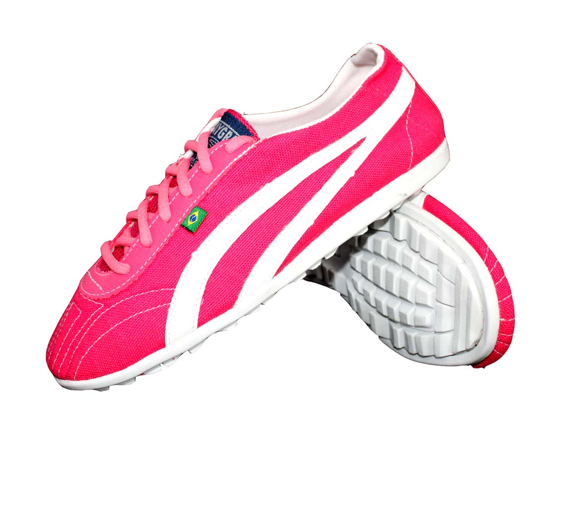 Chaussure Ecologique Femme Costuras Pink/Blanc