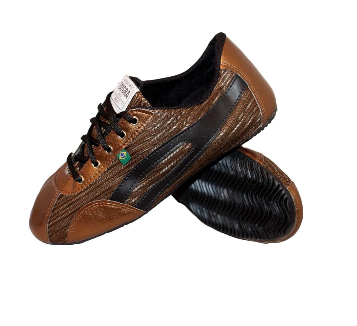 Chaussure Ethique Slim Bronze/Choco