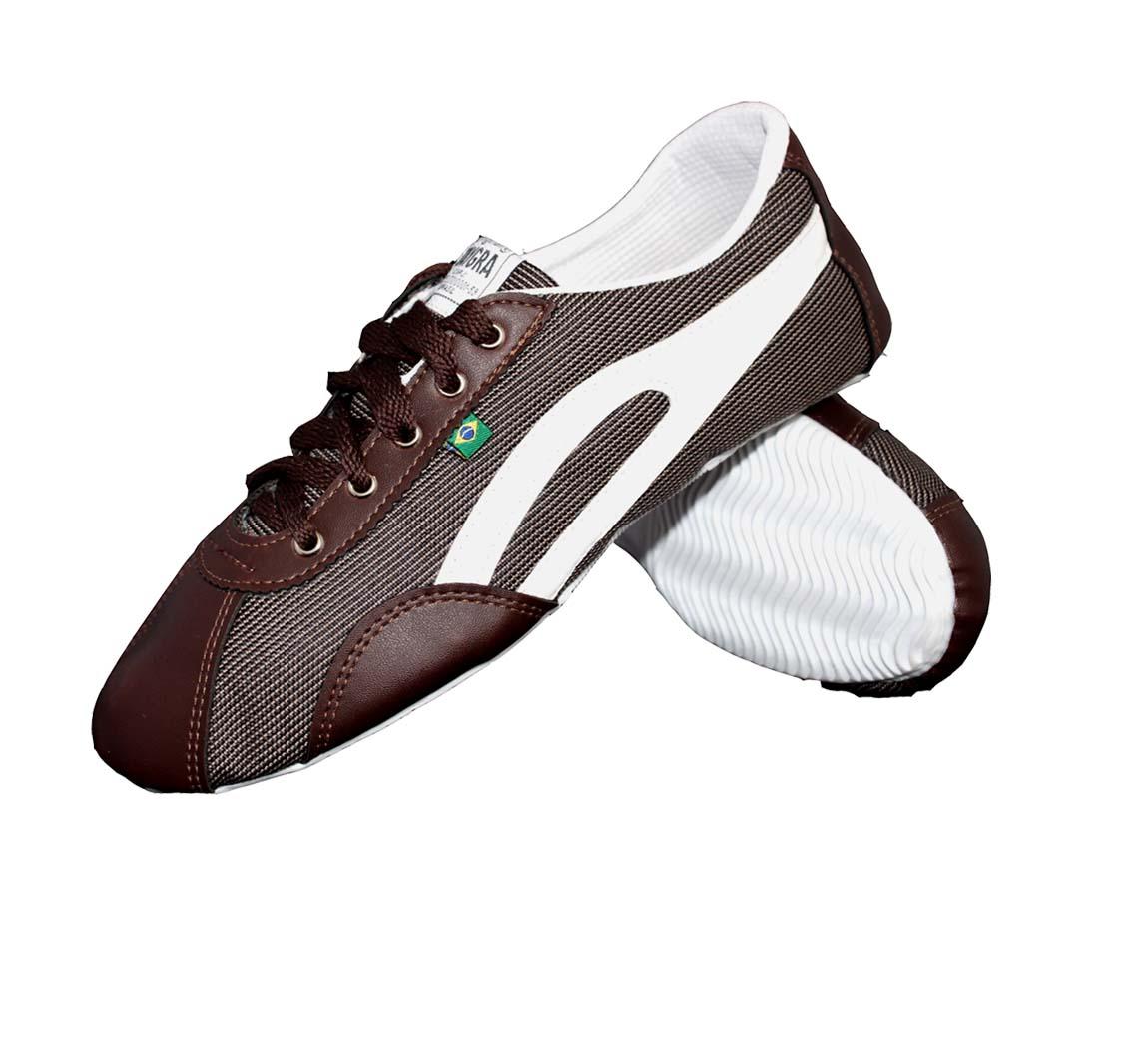 Chaussure Ethique Slim Choco/Blanc