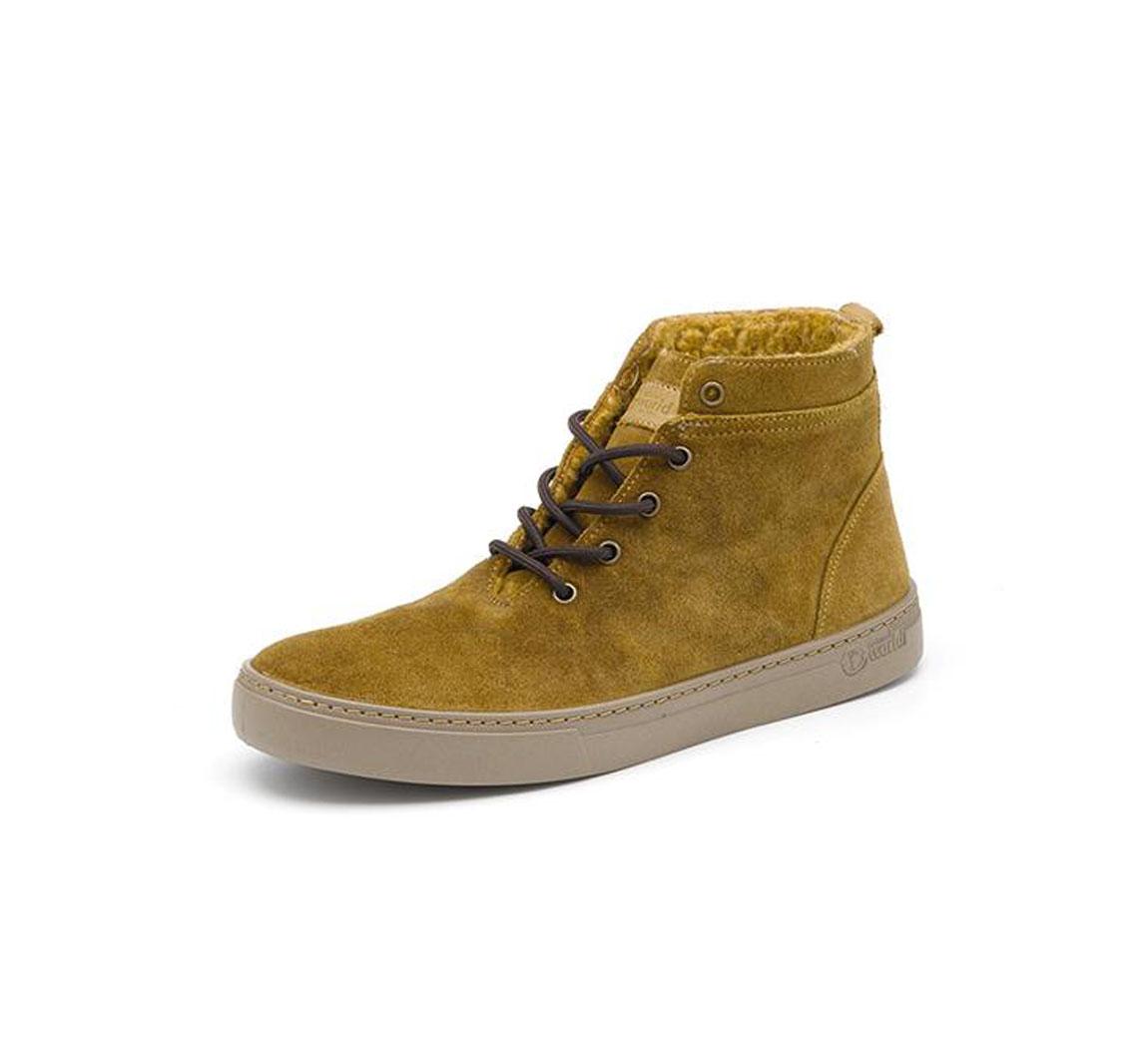 Chaussure de ville homme montante Bota Suede Wool Tintado