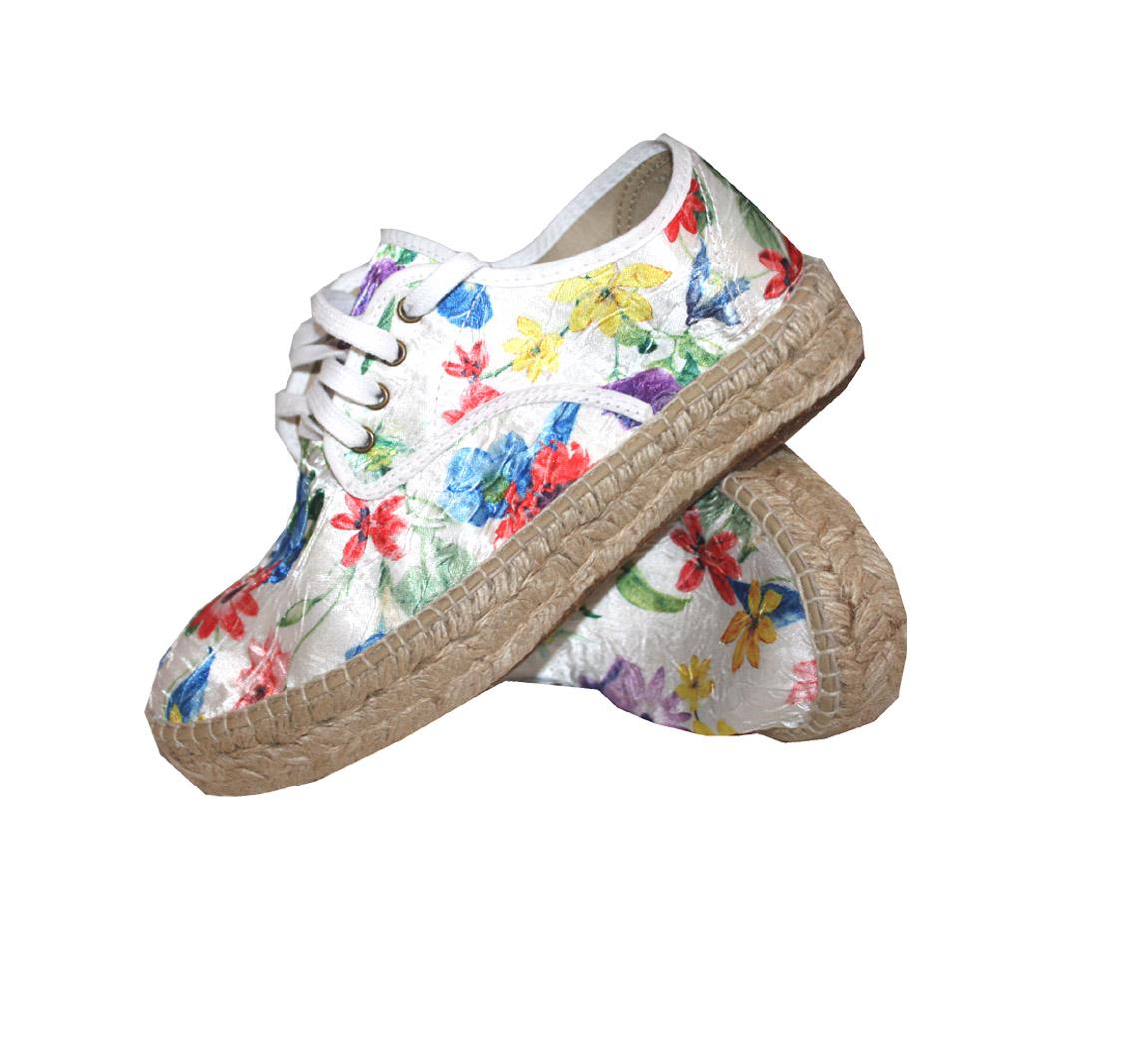 Chaussure femme Blucher Yute Alto Flores China