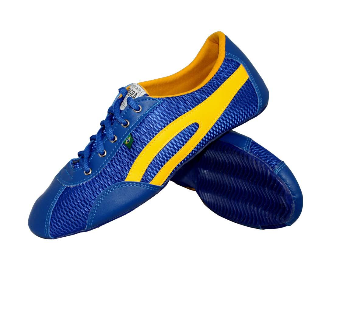 Chaussure Taygra Slim Bleue/Jaune