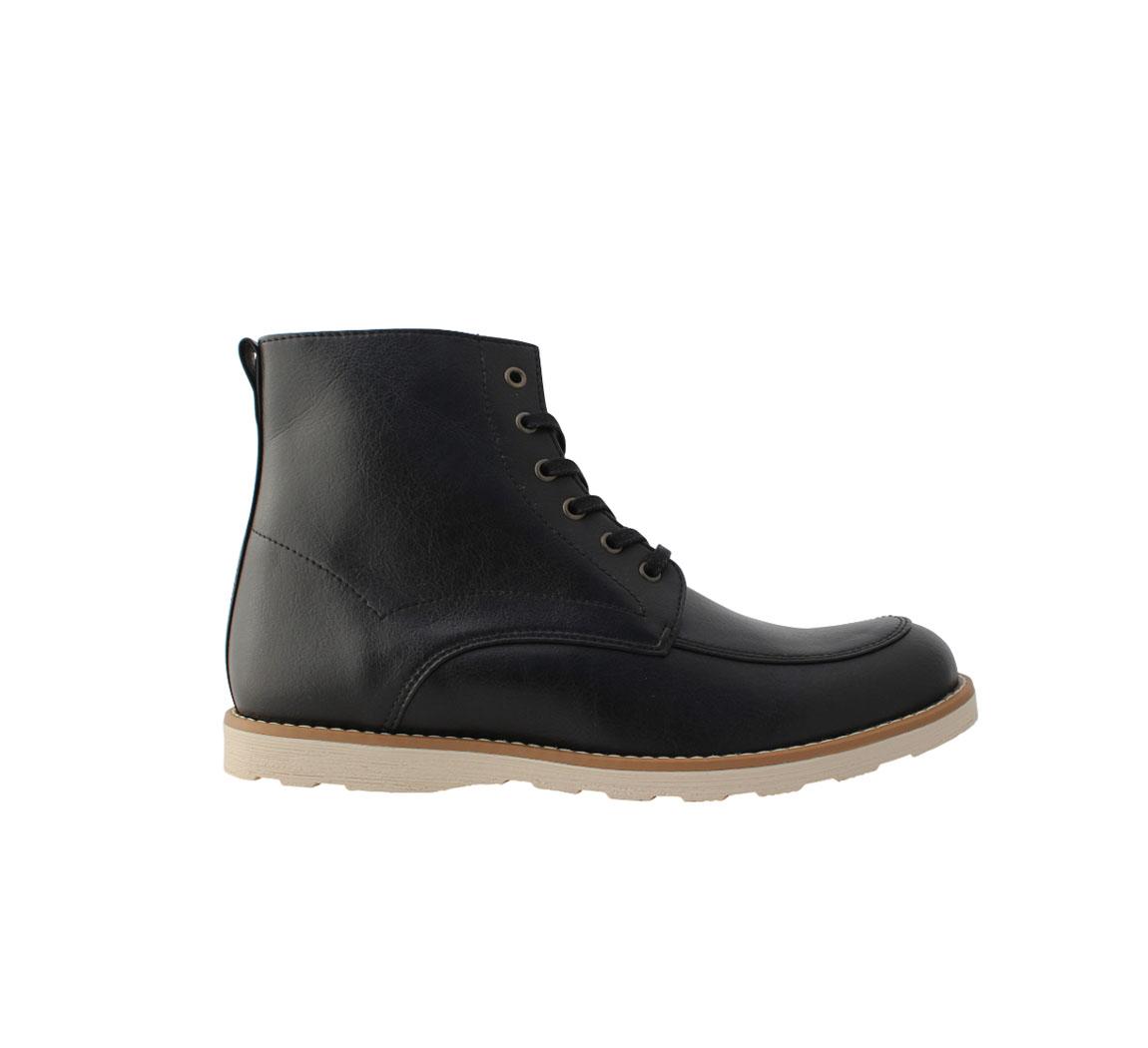 Bottine homme noire  Casual Boots