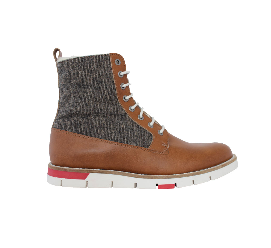 Chaussure vegan montante pour homme Walker boot