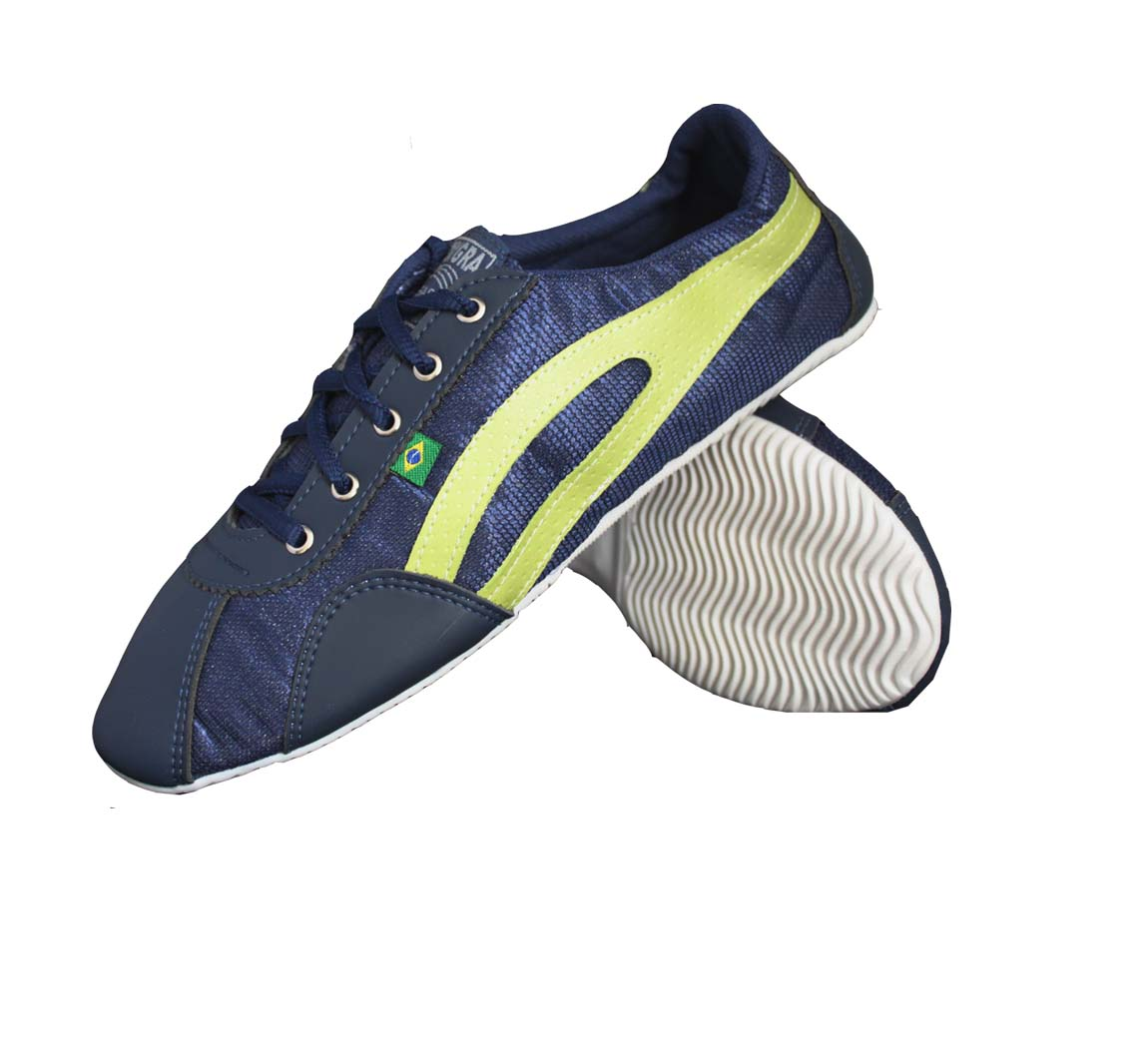 Chaussure Verte Slim Bleue/Anis