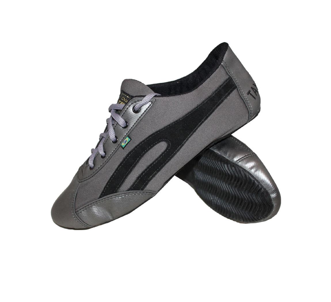 Chaussure Slim Graphite & noire