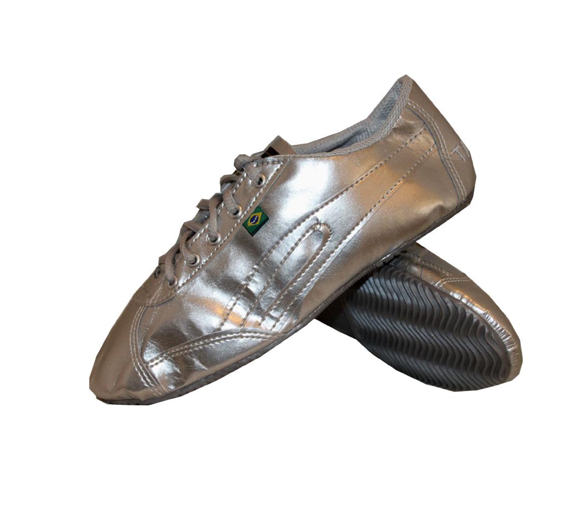 Chaussure Slim argent Dernière paire 41