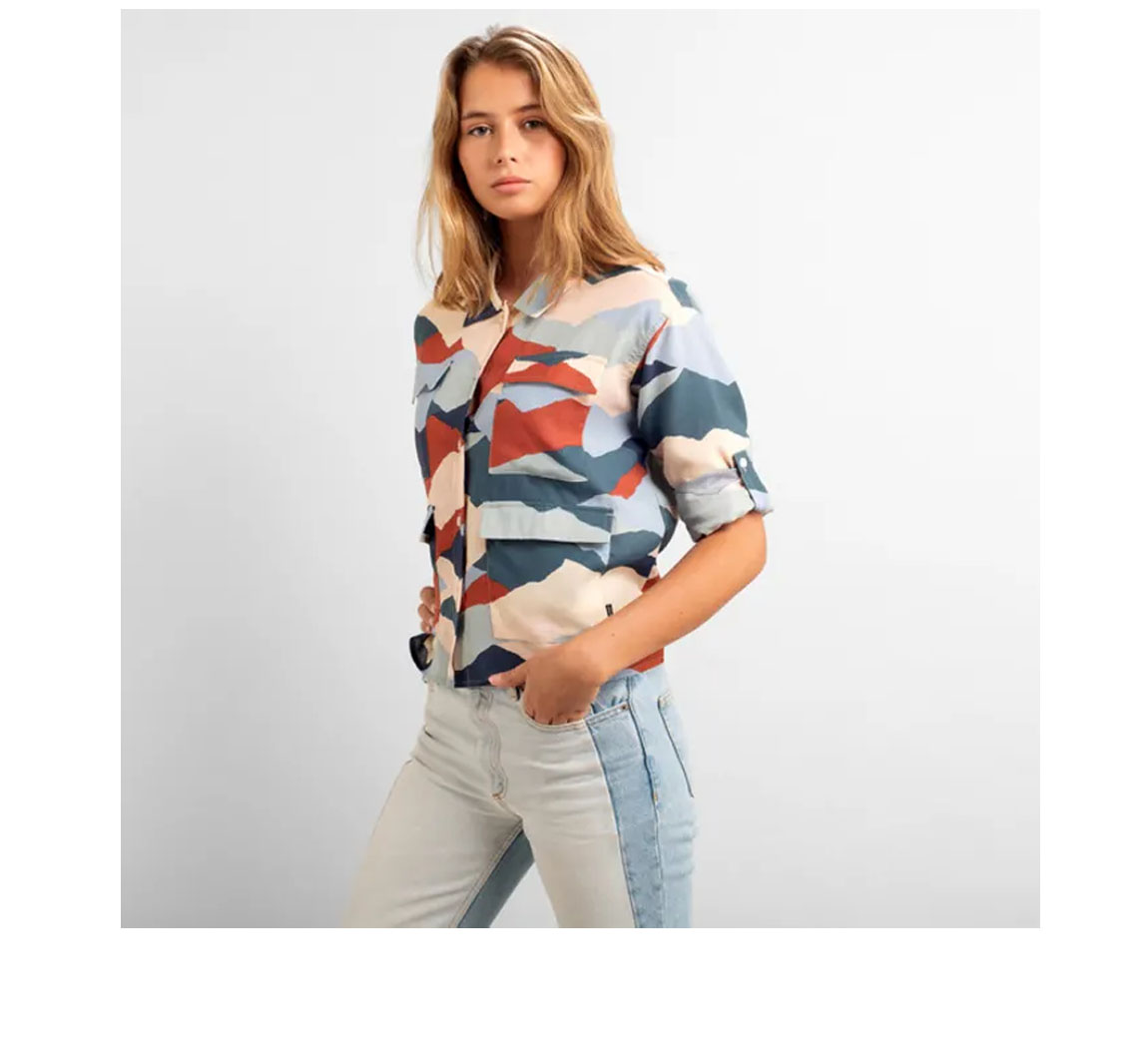 Chemise femme en coton biologique Shirt Lima