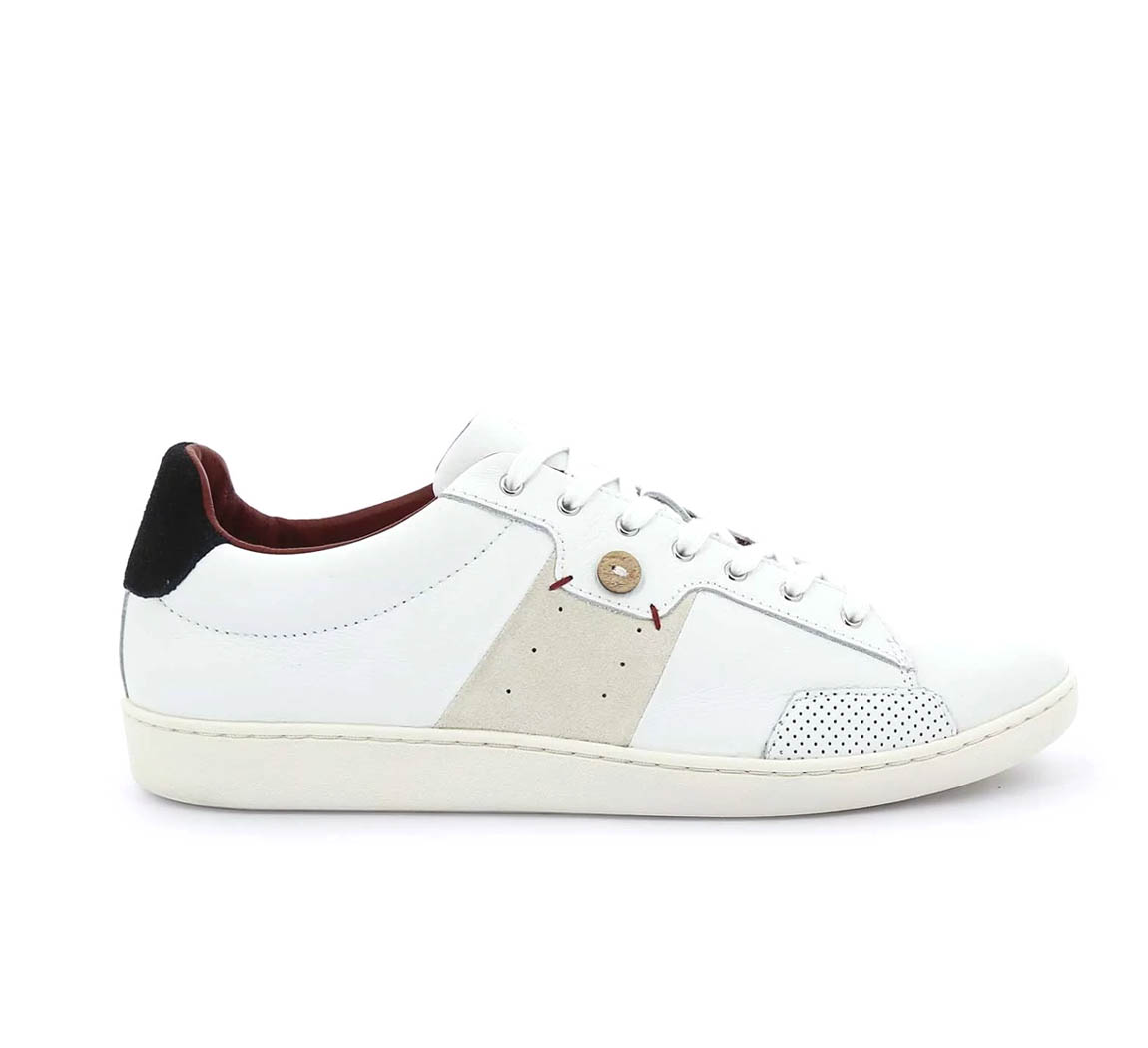 Tennis cuir blanc Hosta M