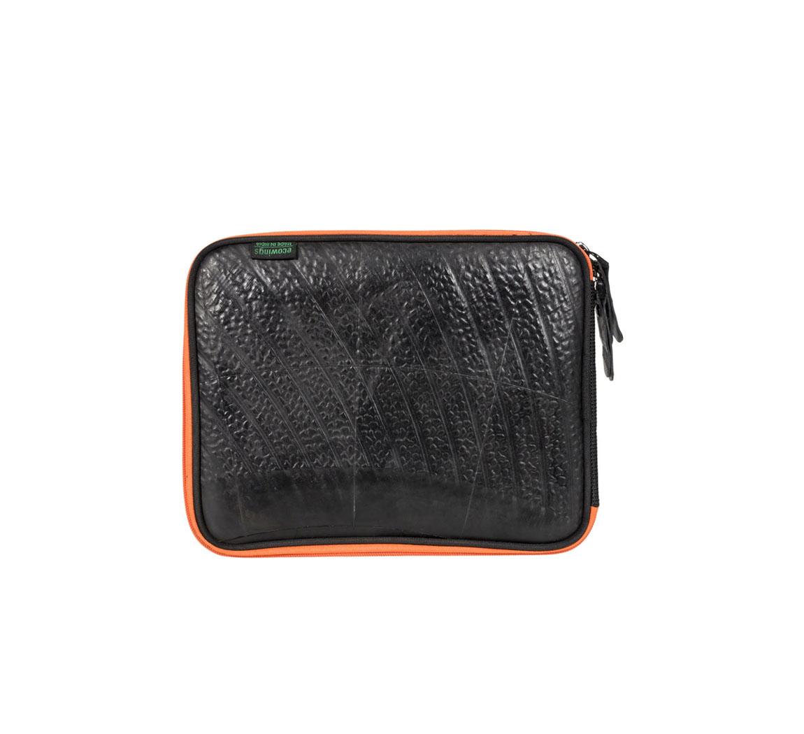 housse pour tablette en chambre à air recyclée Tablet Cover Swan