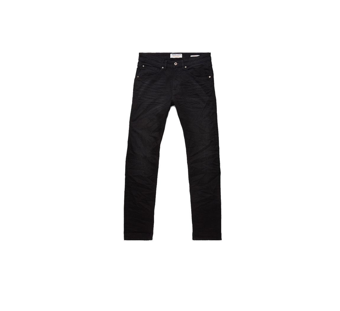 Jeans homme noir vegan Jamie Slim