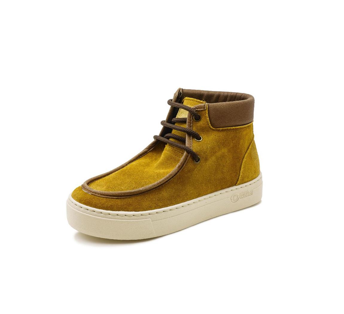 Chaussure montante écologique vegan daim Chaussure Montante Lice