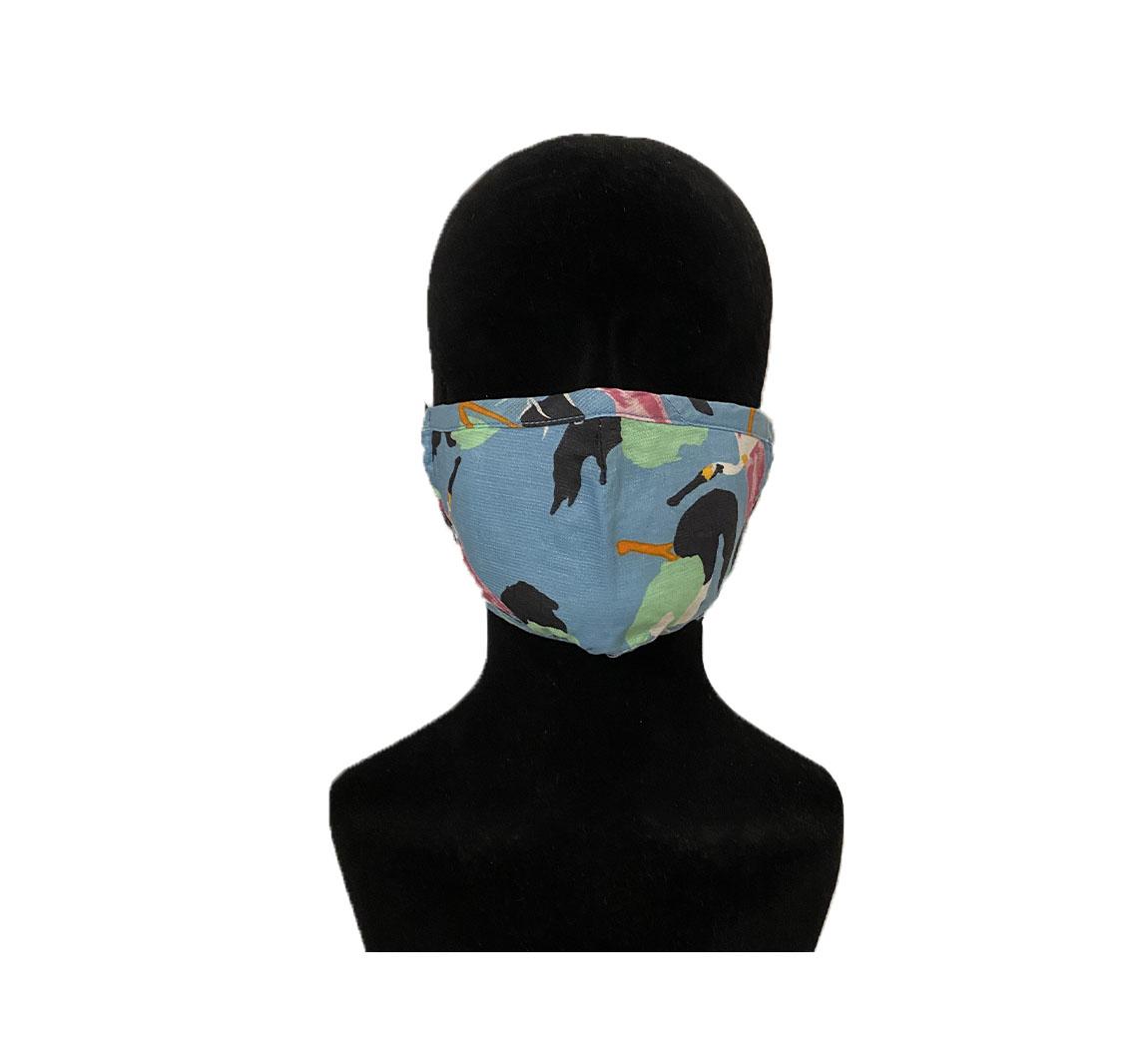 Masque Chanvre Coton bio pour enfant Masque chanvre et coton enfant