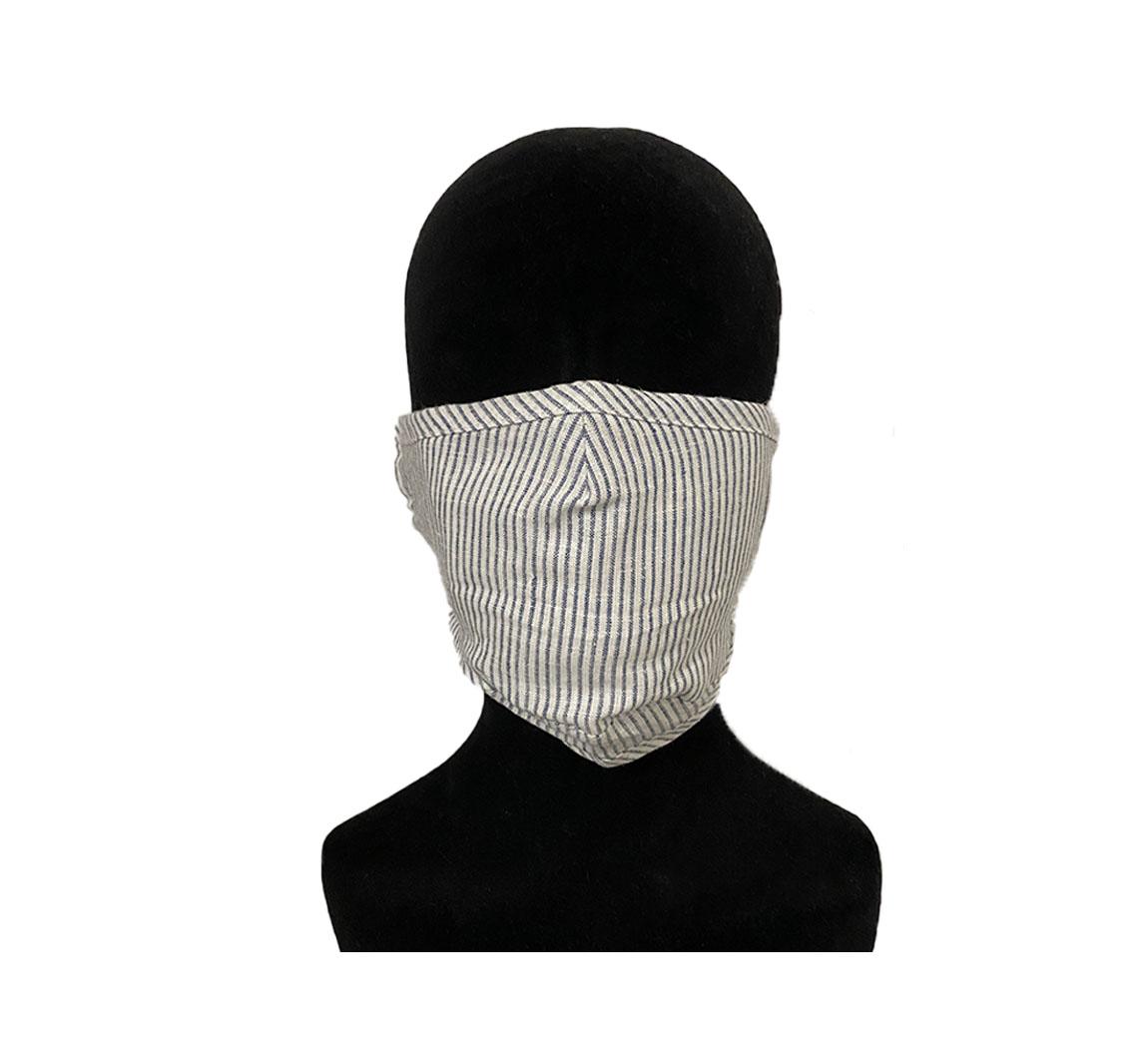 Masque Chanvre et coton bio Masque chanvre et coton adulte