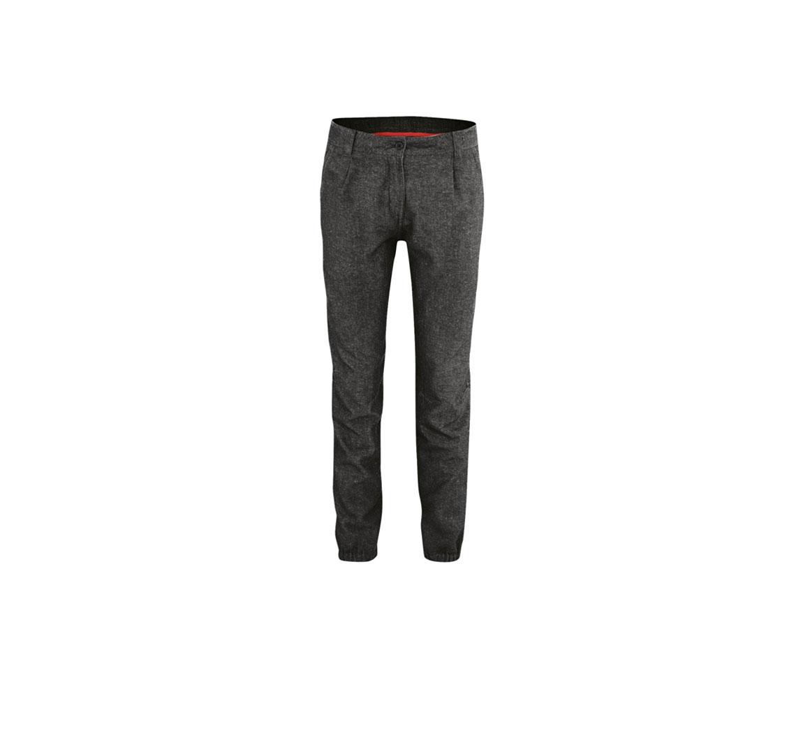 Pantalon femme en chanvre Chino Pants with elastic