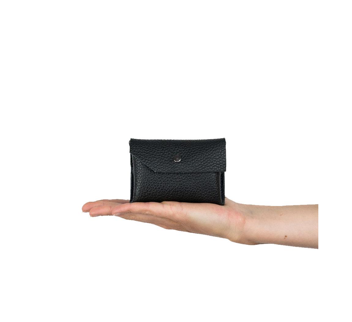 Petit porte-monnaie en cuir Petit Caillou