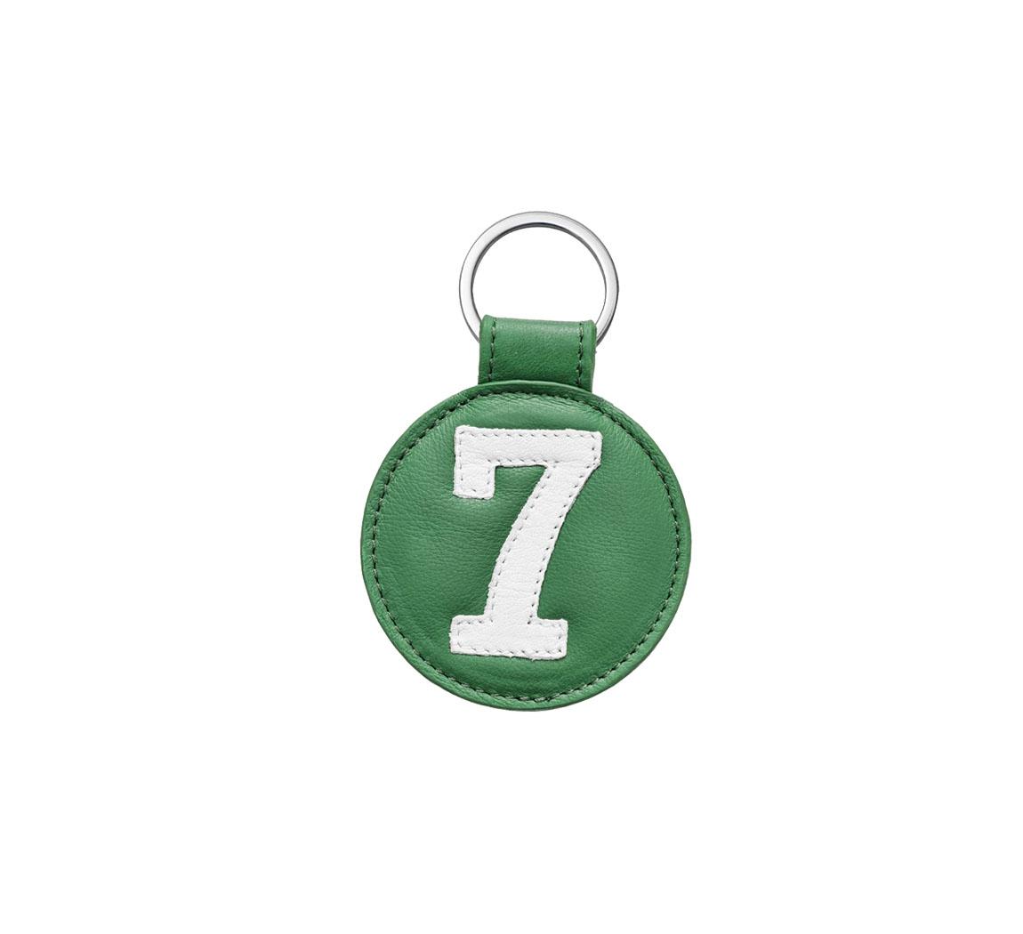 Porte clé en cuir Porte clés cuir Up cyclé