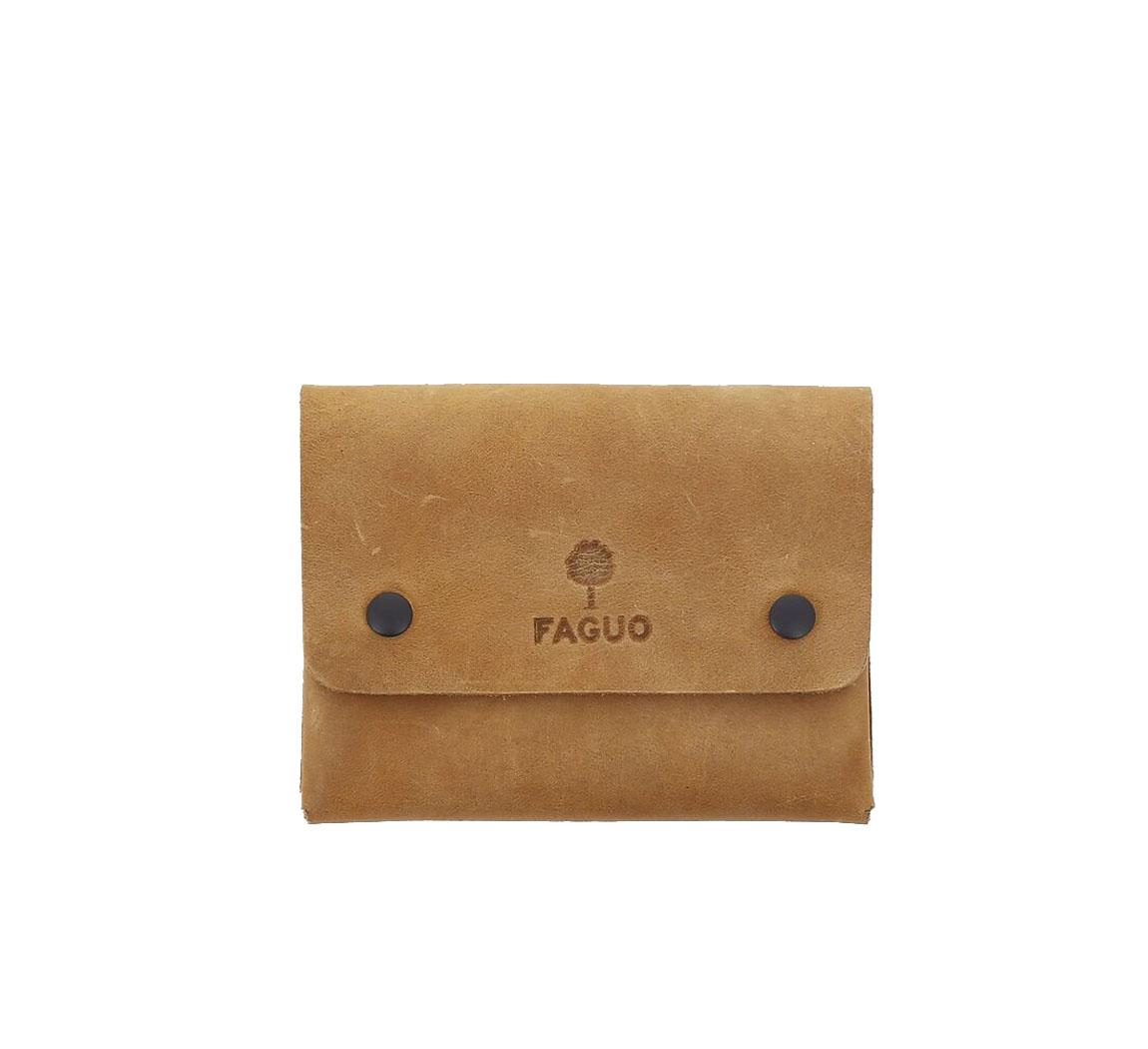 Porte-monnaie en cuir Wallet Snap