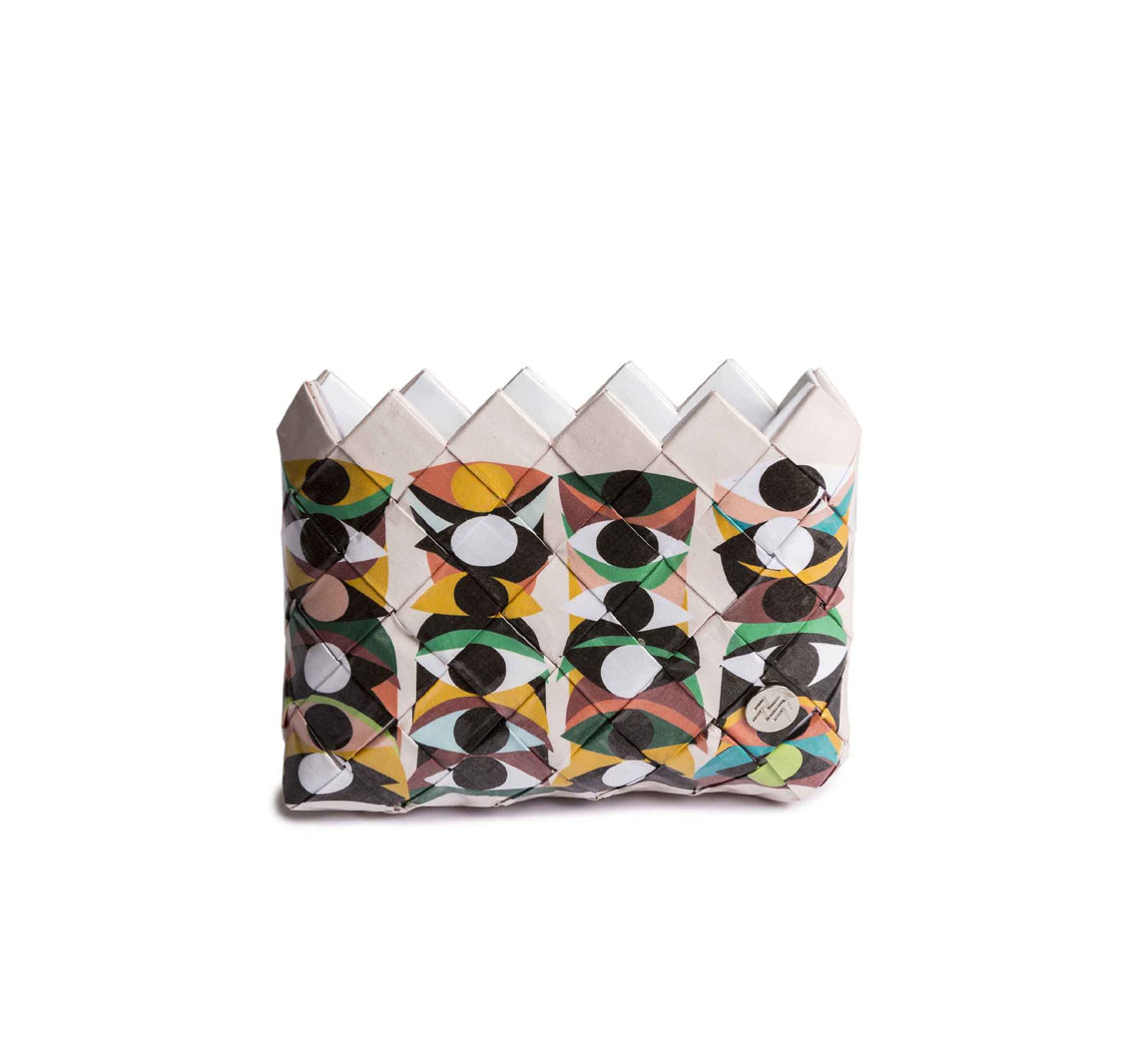 Porte monnaie en papier recyclé Mini Pochette