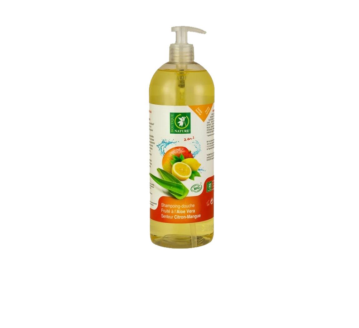 Produit cosmétique Shampoing-douche fruité