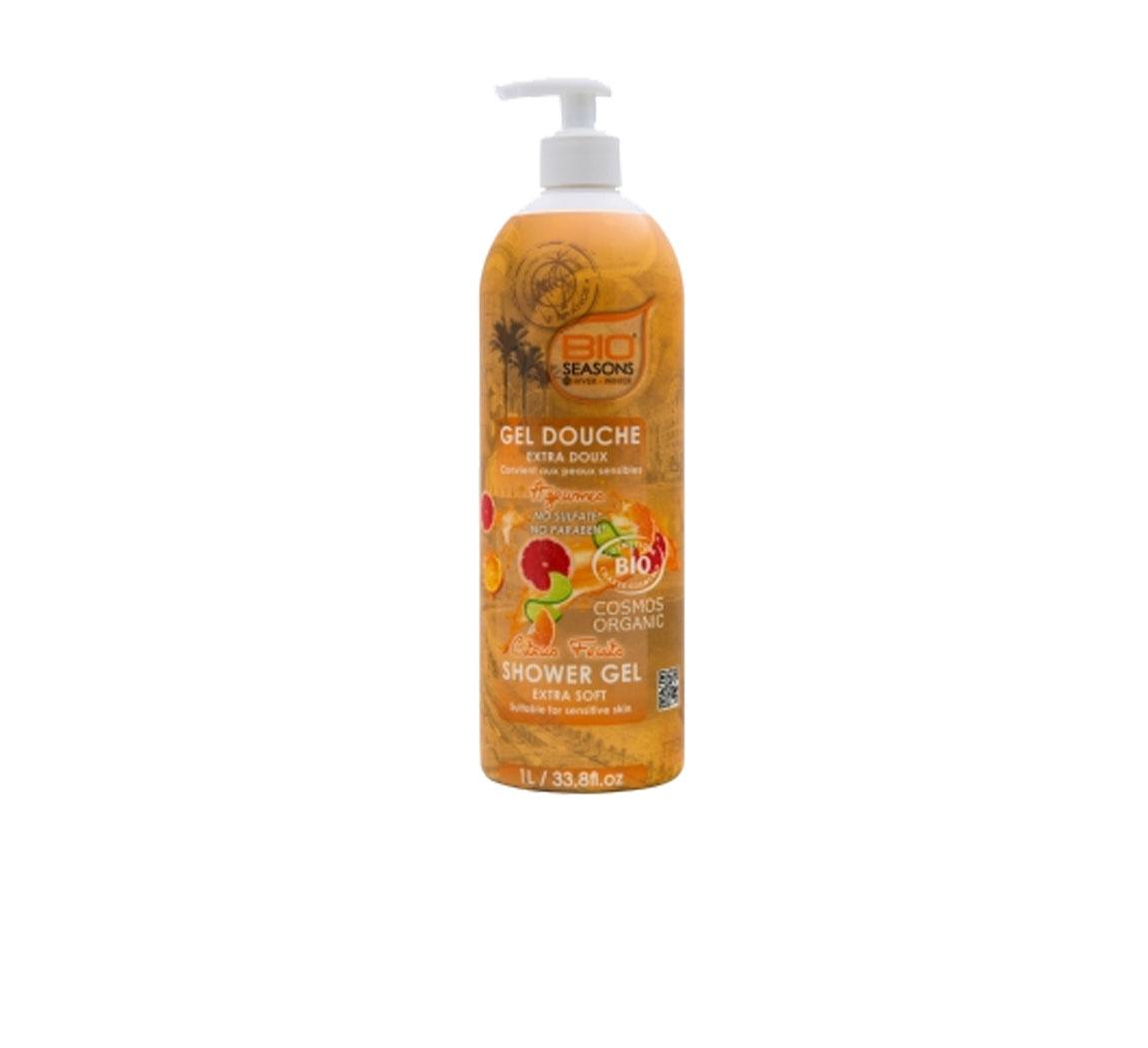 Produit cosmétique Grand gel douche Bio Seasons