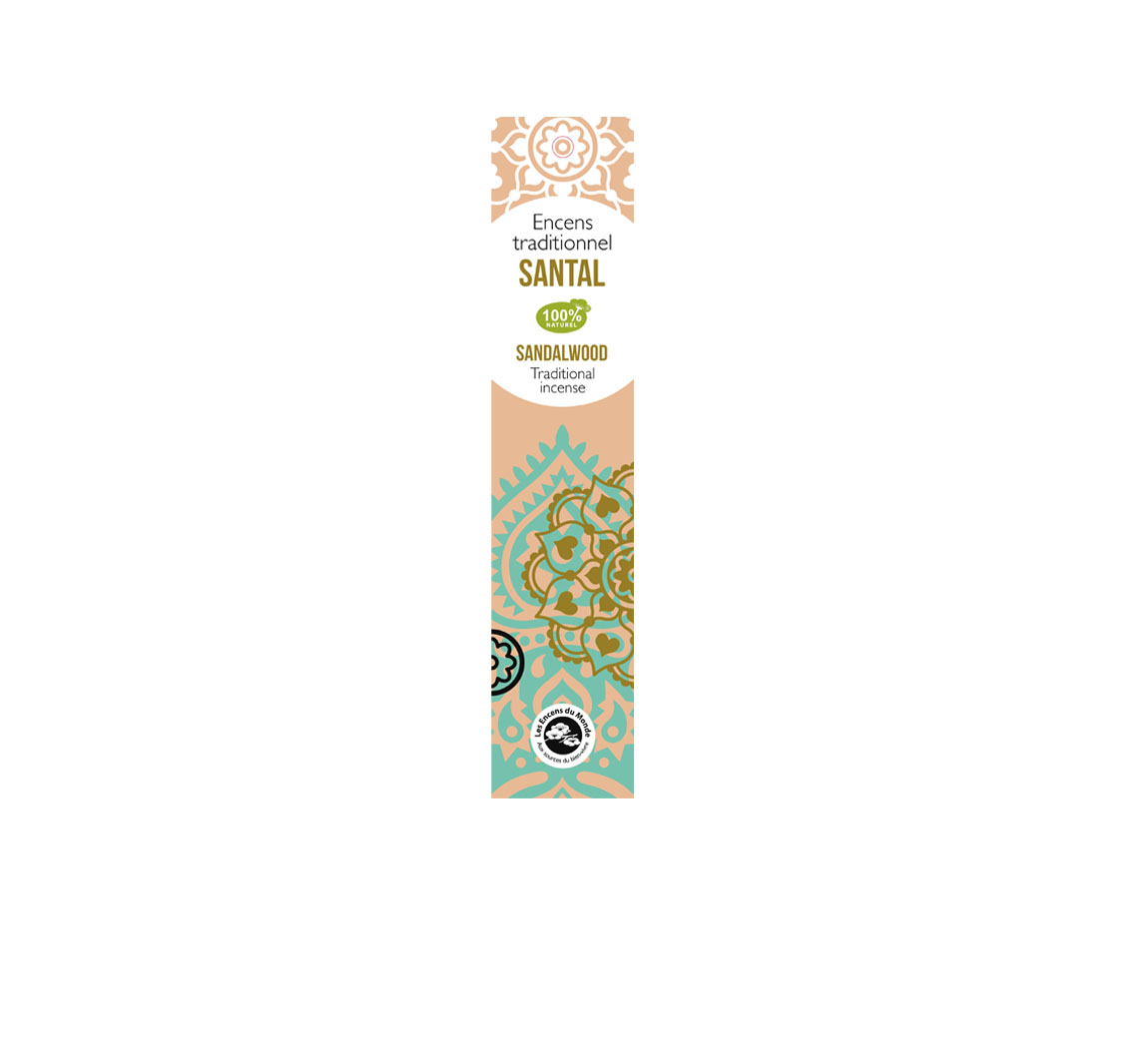Produit cosmétique Encens Traditionnel Indien