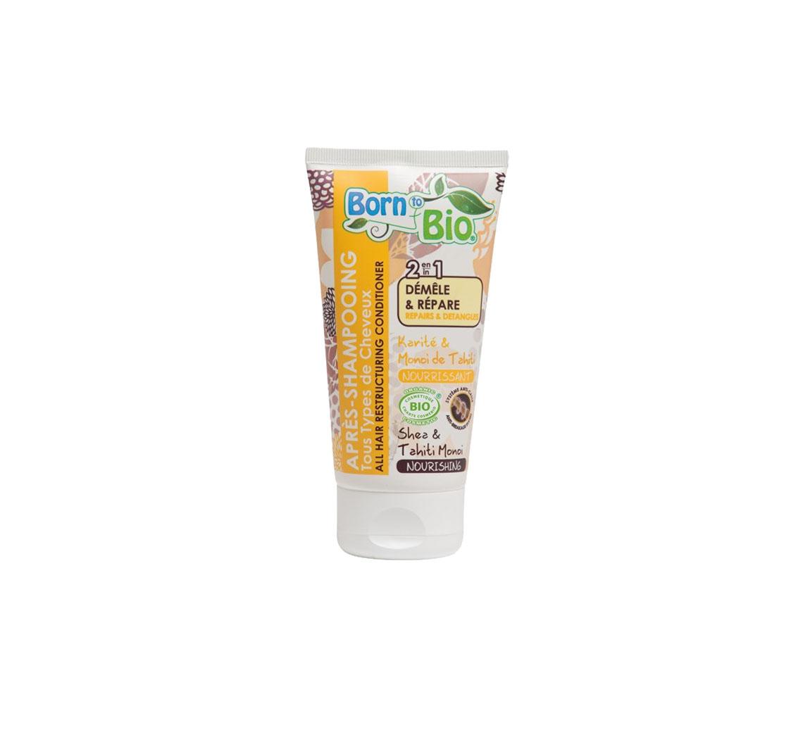 Produit cosmétique Après shampoing 2 en 1