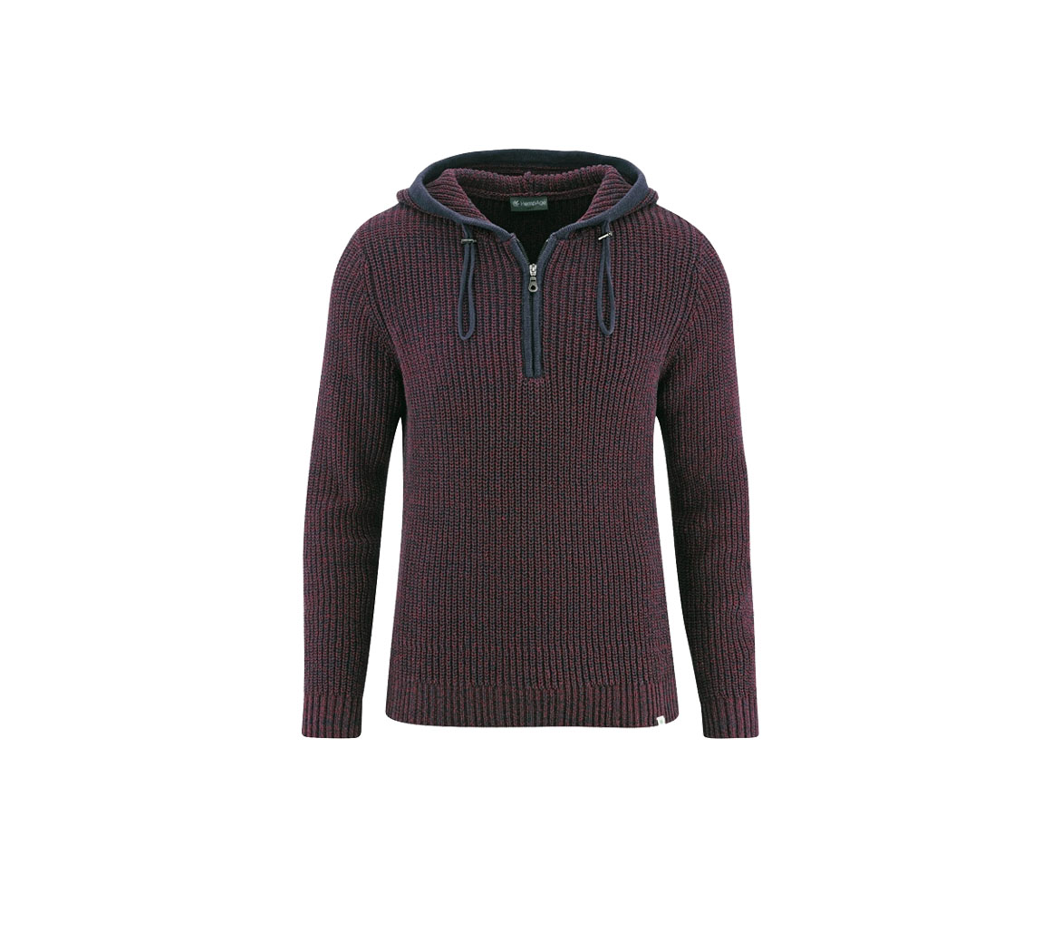 Pull en chanvre à capuche Pullover Hoody