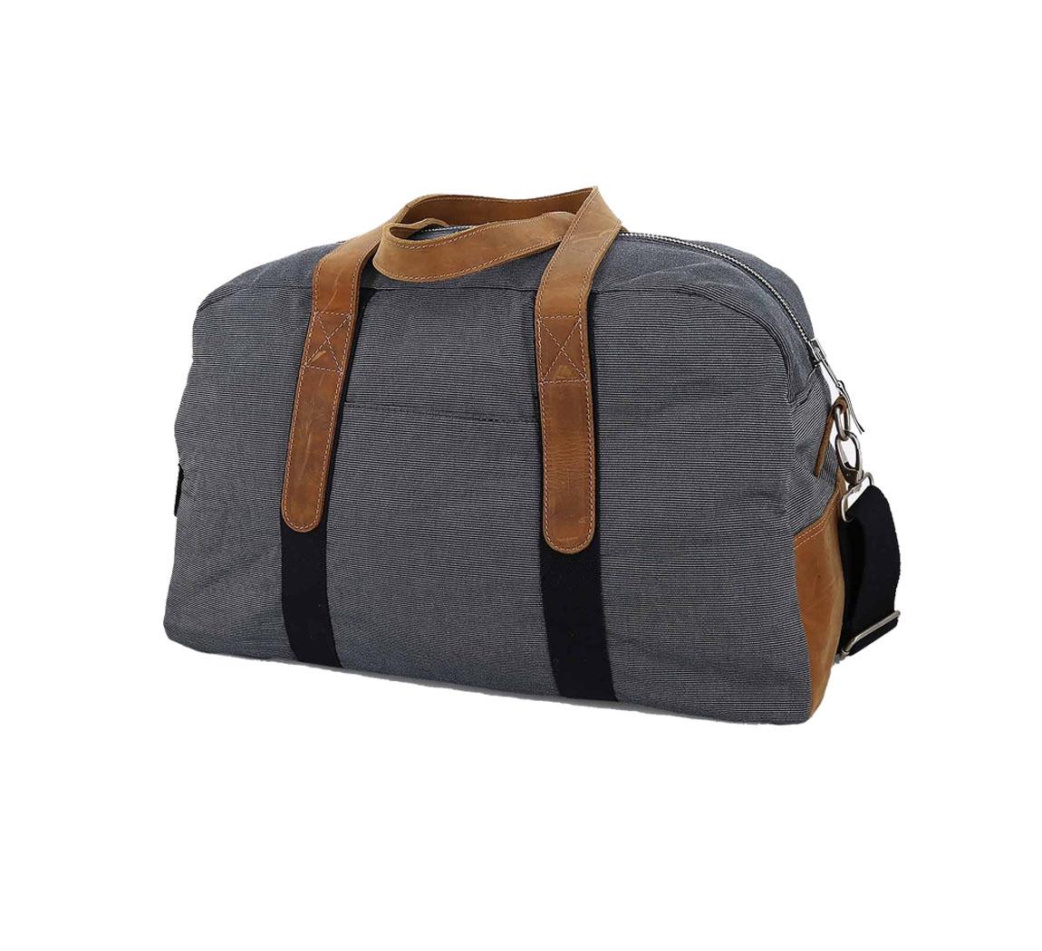 sac 48 heures Faguo Bag 48 Stripes Navy
