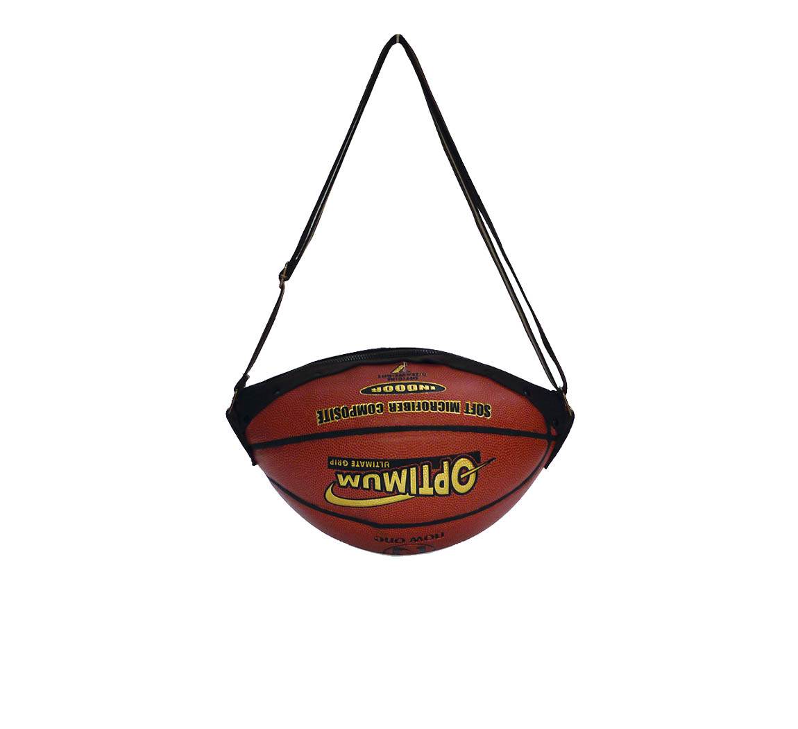 Sac femme en ballon de basket up-cyclé Sakaball