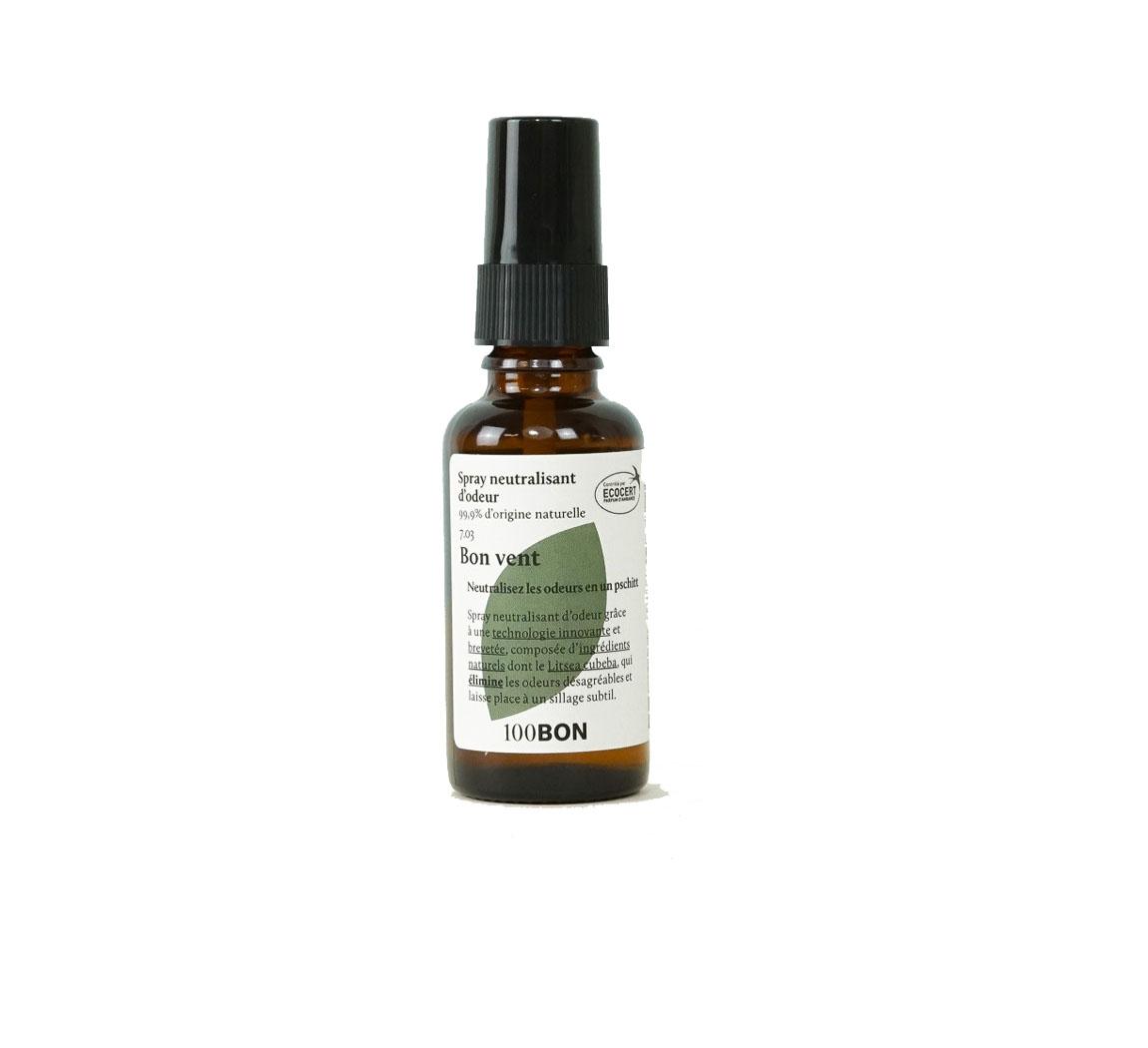 Spray neutralisant d'odeurs 100Bon Spray neutralisant d'odeurs
