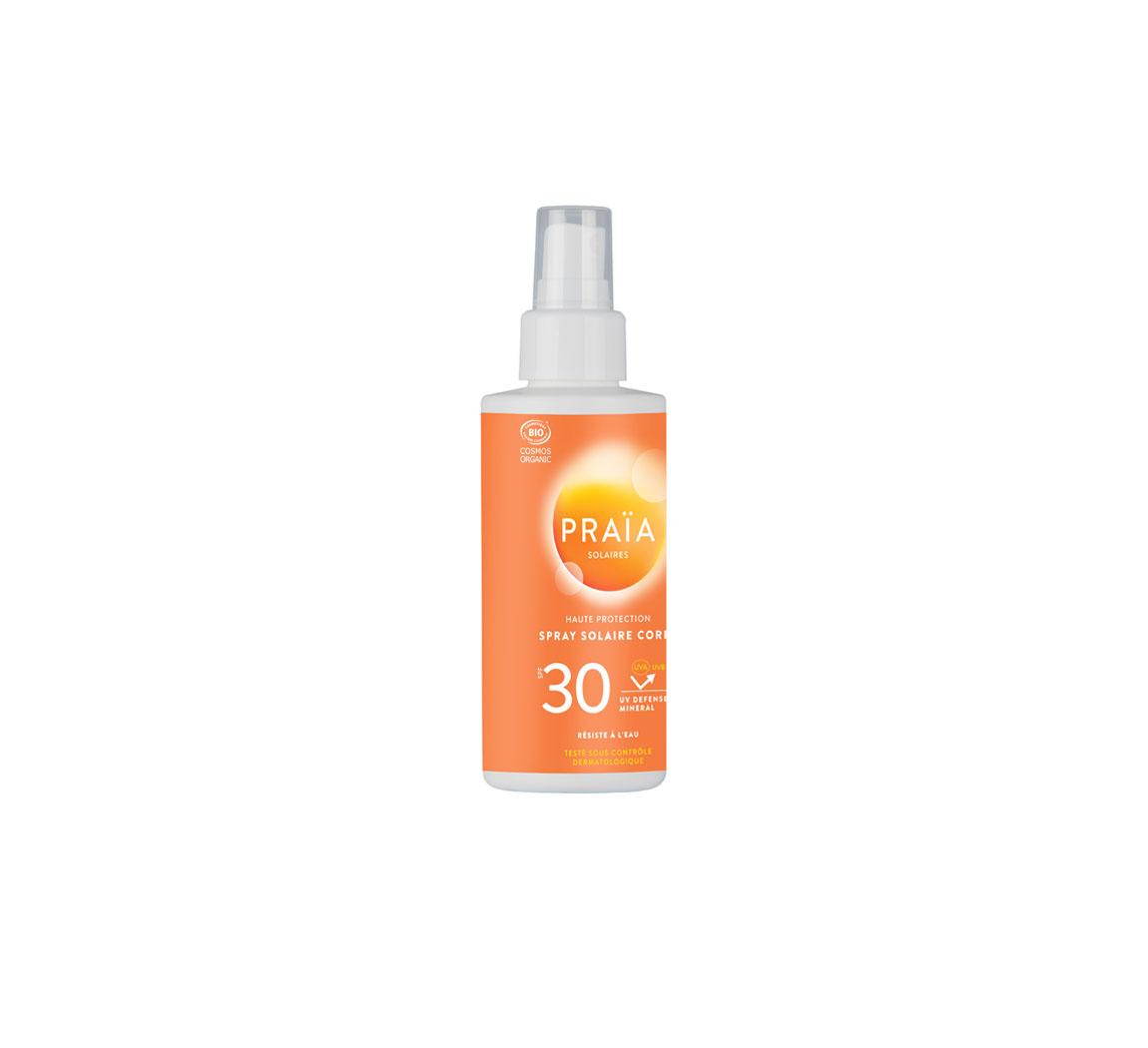 Spray solaire corps Spray solaire SPF30