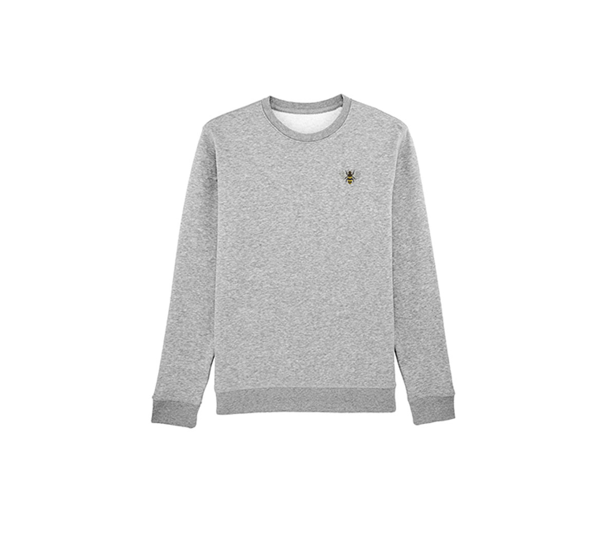 Sweat abeille mixte Boyfriend Crew neck Sweat