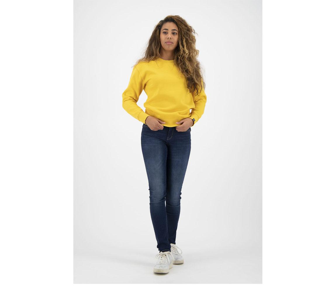Sweat femme jaune Skyler Sweater
