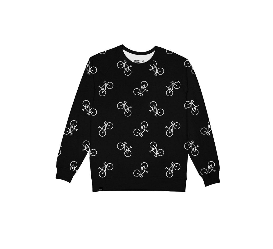 sweat noir velo dedicated promo Mora Knitted Sweatshirts Promo