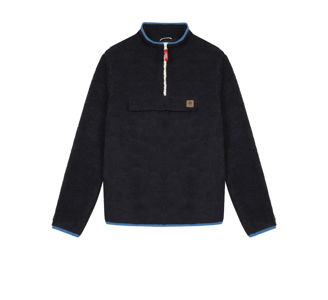 Sweat style mouton polyester recycle faguo  Sweat Sherpa Parroy