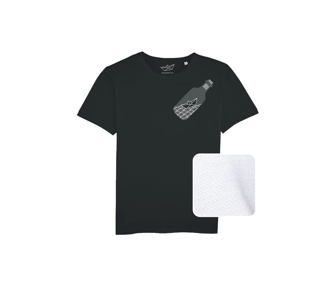 tee shirt en coton pique biologique T-shirt coton polo