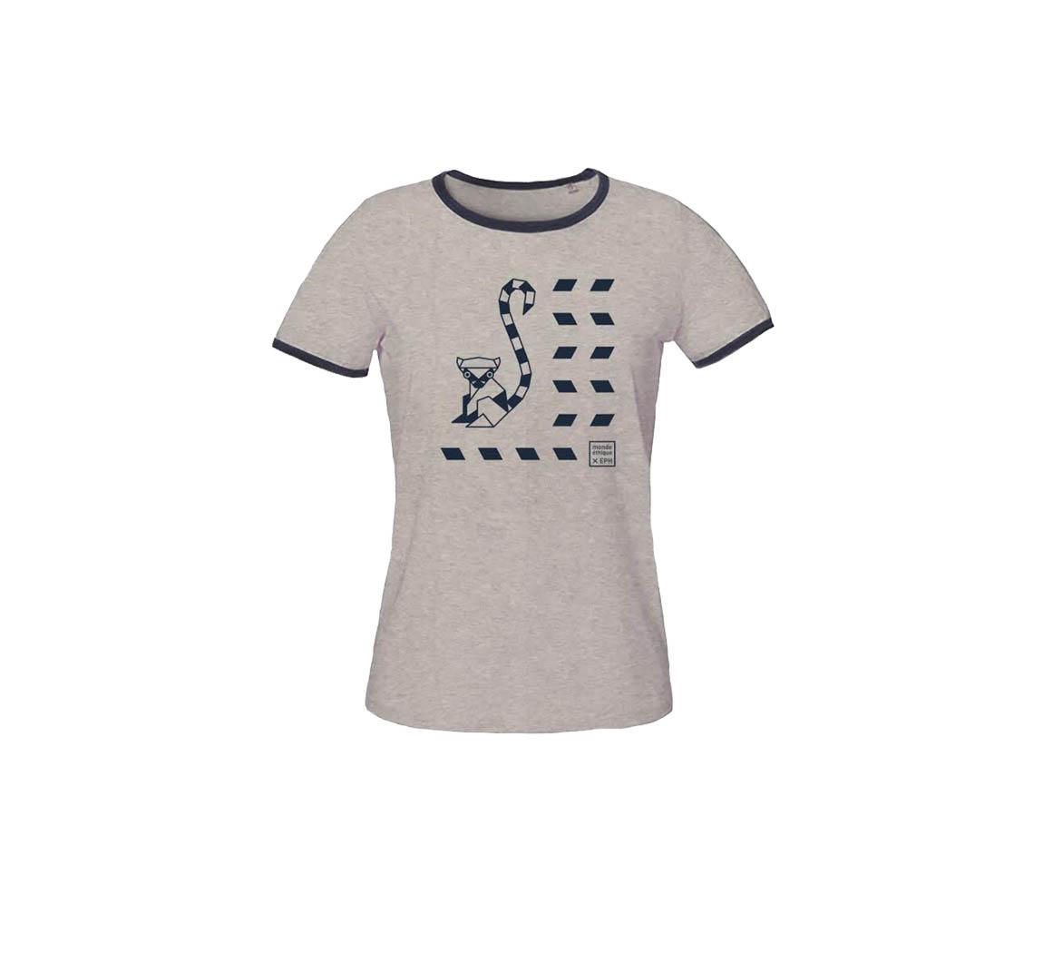 T-shirt femme en coton biologique T-shirt femme EPH