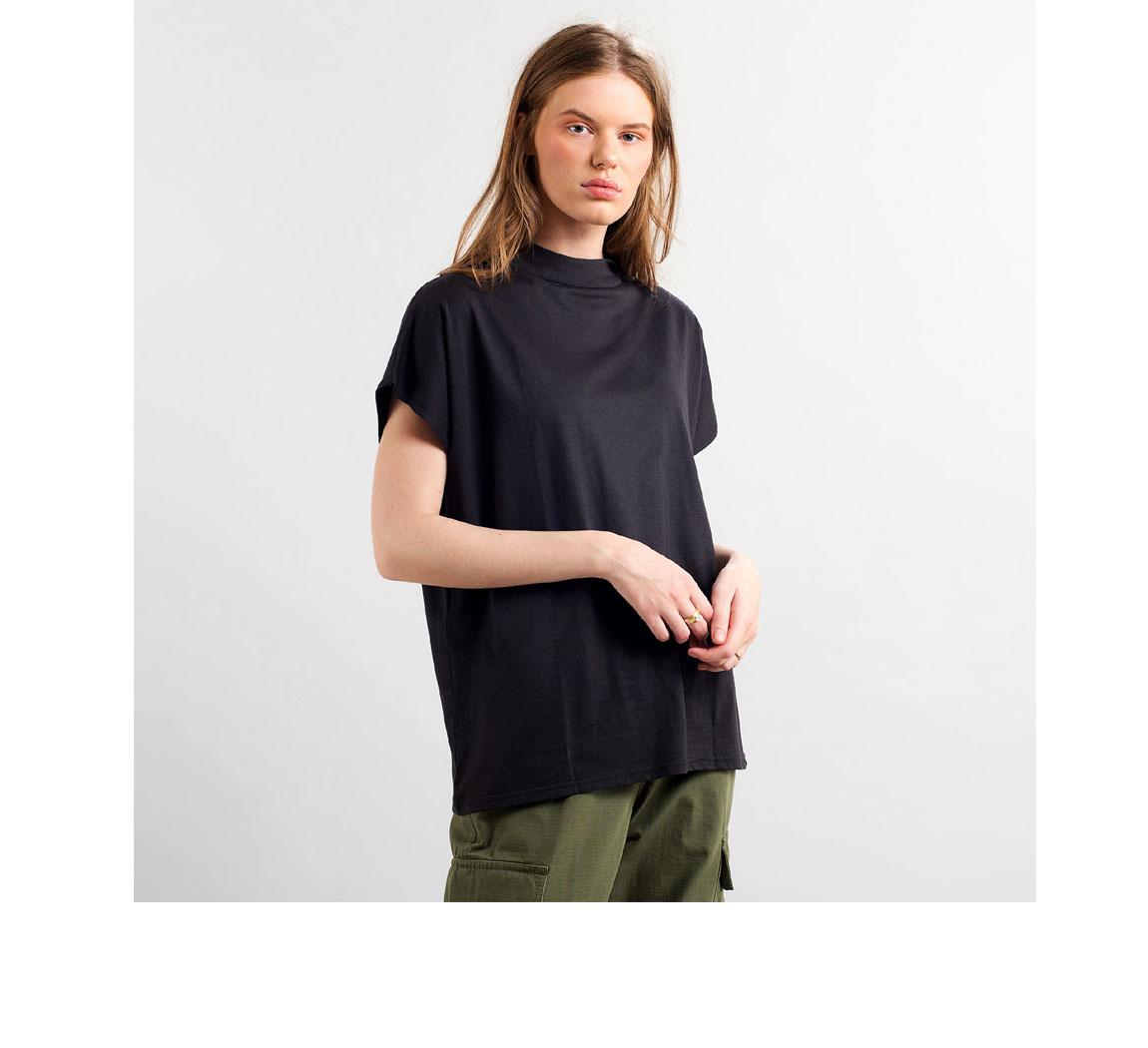 T shirt femme en eucalyptus Top Flor